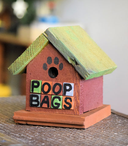 Poop Bag House (House Design-B)