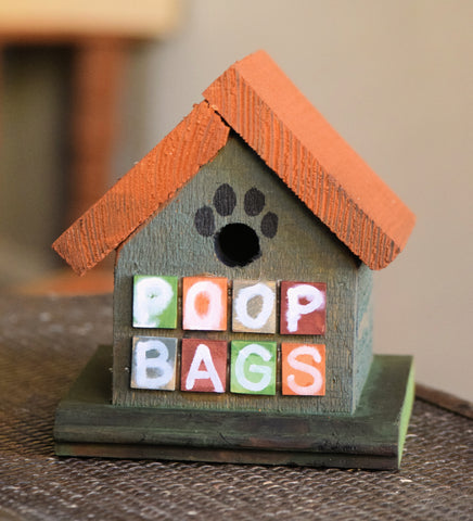 Poop Bag House (House Design-H)