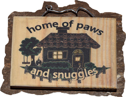 Home of Paws and Snuggles Magnet