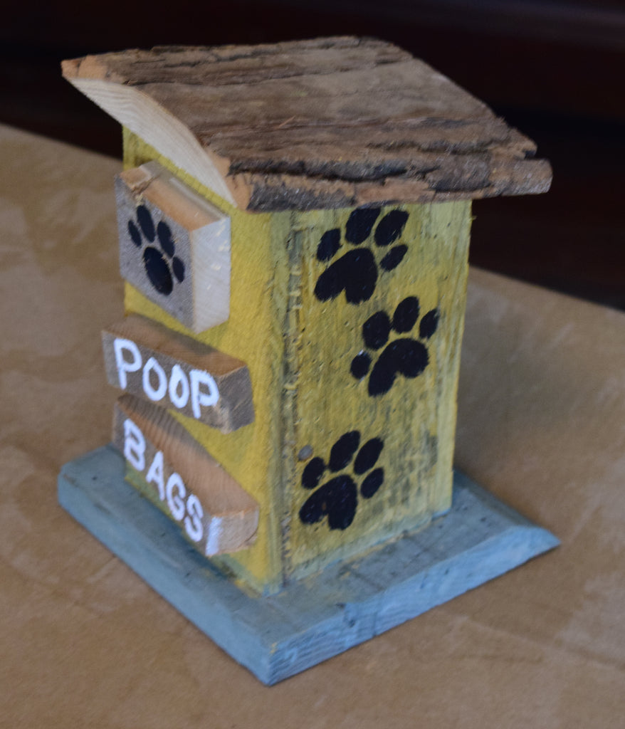 Poop Bag House (Outhouse Design-HH)