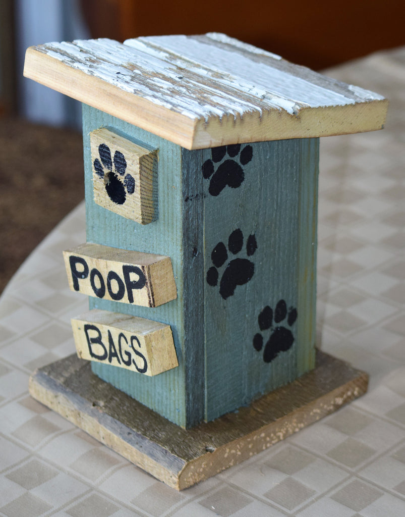 Poop Bag House (Outhouse Design-H)