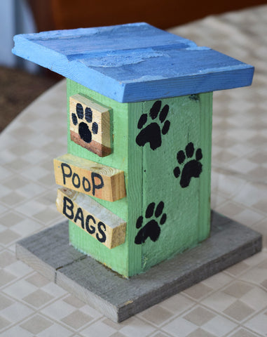 Poop Bag House (Outhouse Design-J)