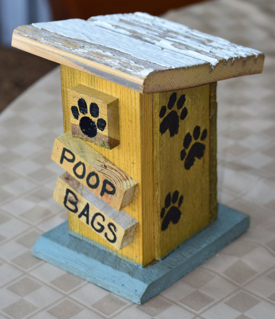 Poop Bag House (Outhouse Design-R)