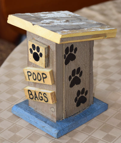 Poop Bag House (Outhouse Design-I(eye)