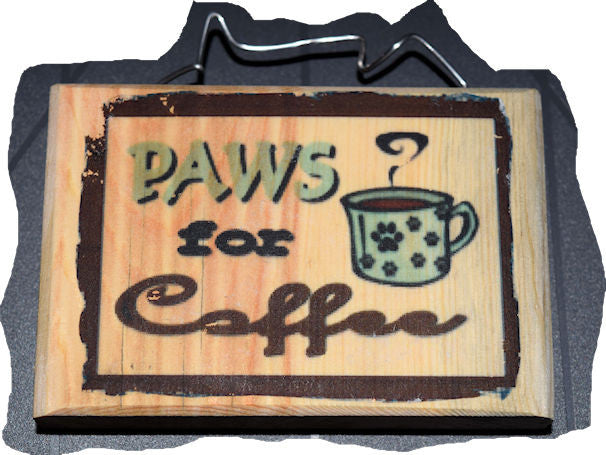 Paws for Coffee Magnet