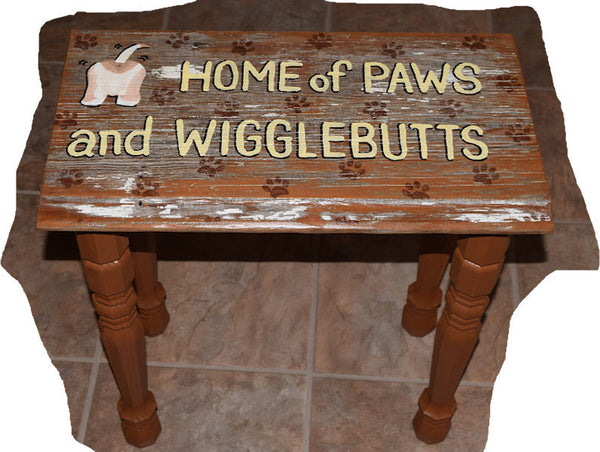 Home of Paws & Wigglebutts Table