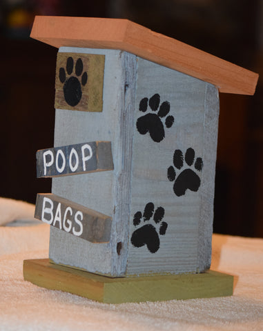 Poop Bag House (Outhouse Design-B)