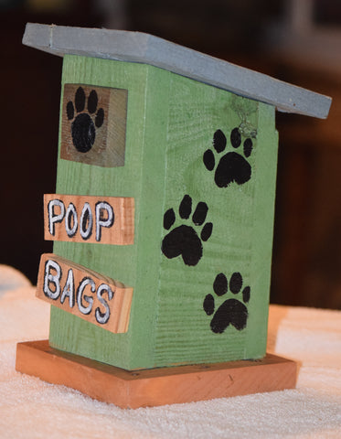 Poop Bag House (Outhouse Design-C)