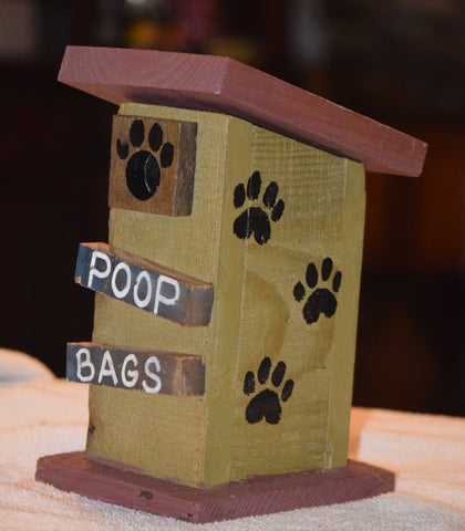 Poop Bag House (Outhouse Design-E)