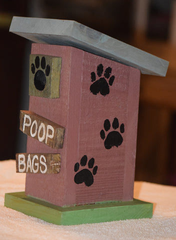 Poop Bag House (Outhouse Design-F)