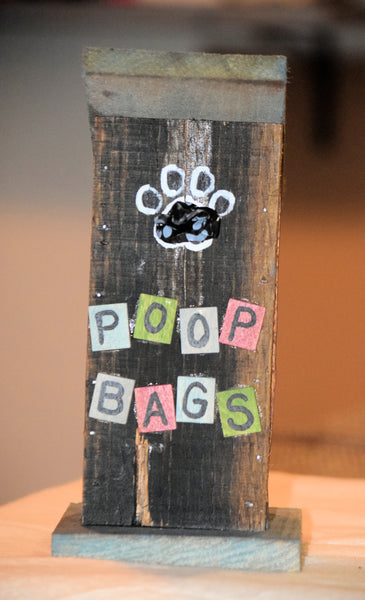 Poop Bag House (Outhouse Design)