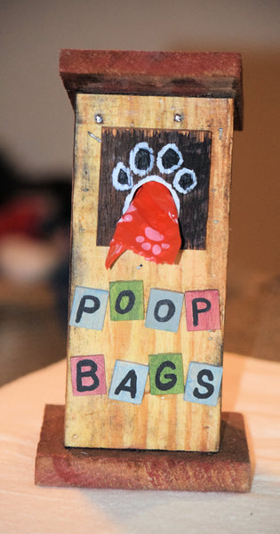 Poop Bag House (Outhouse Design-A)