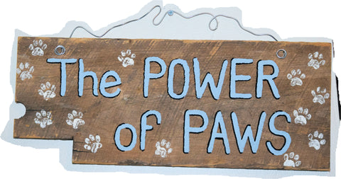 The Power of Paws (light blue)