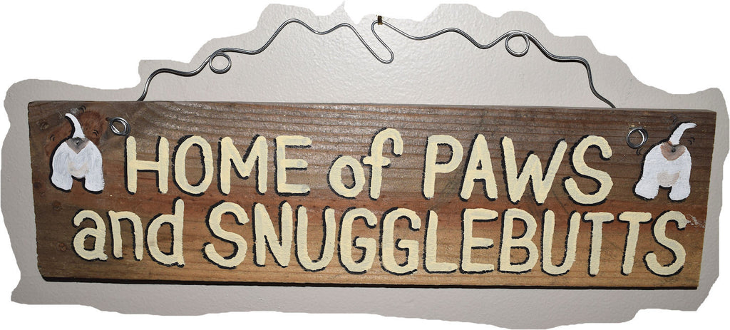 Home of Paws and Snugglebutts