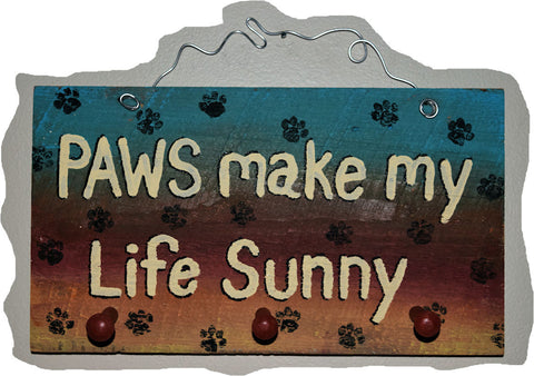 Paws make my life Sunny Leash Holder