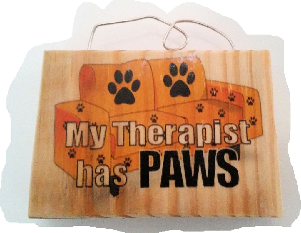 My Therapist has Paws Magnet