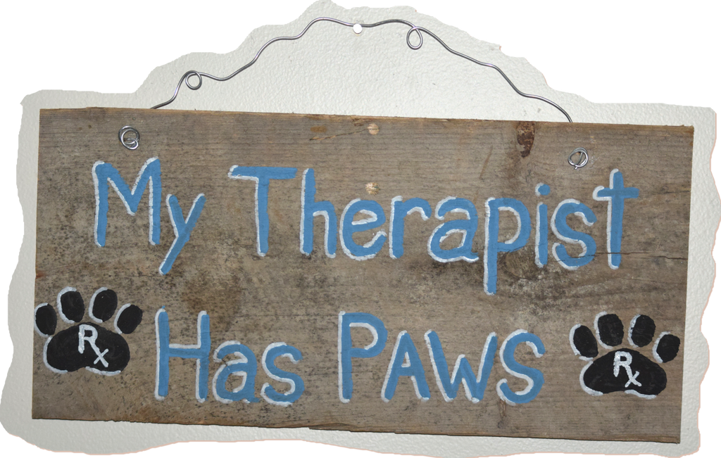 My therapist has paws