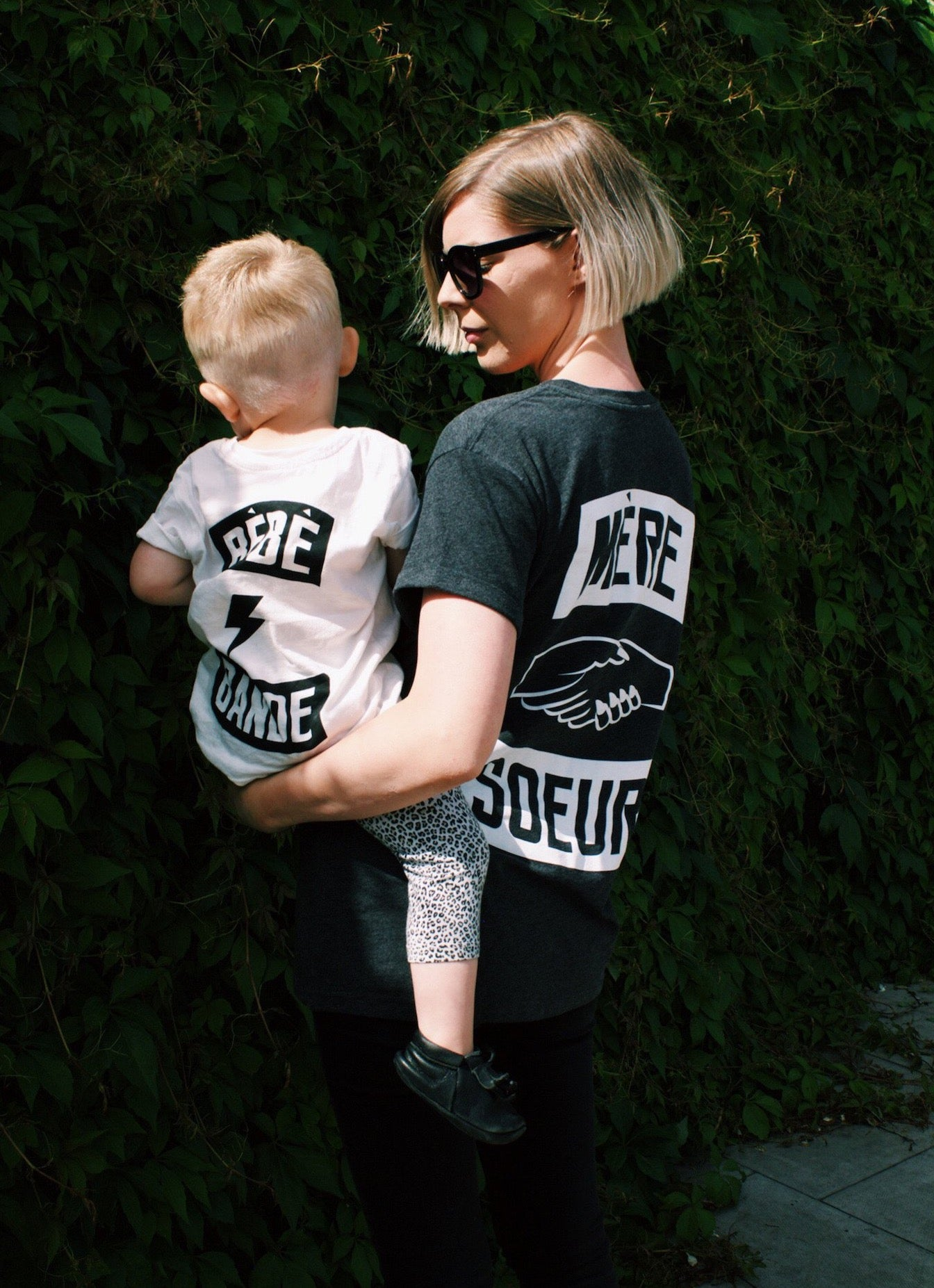 Mama Gang Black T-Shirt by Mère Soeur. Mere Soeur is a lifestyle brand dedicated to celebrating sisterhood and empowering mums.