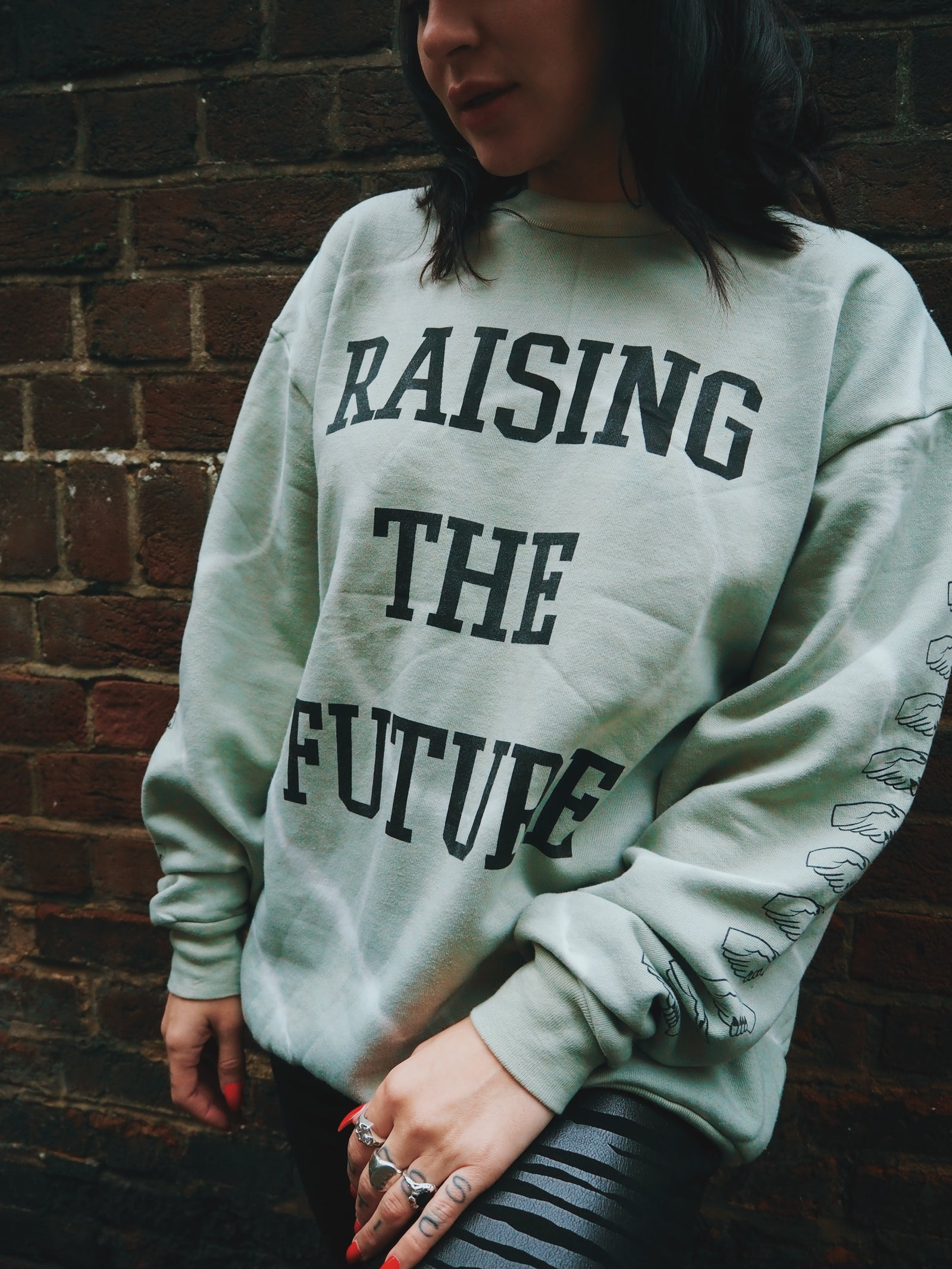 Raising the Future - Sweatshirt