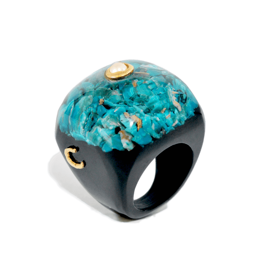 Handmade Jewelry - Columbus Square, Rings - Caona Design