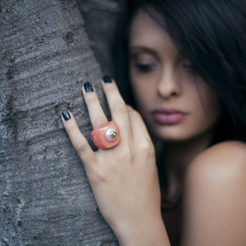Handmade Jewelry - Elegant Madison, Rings - Caona Design