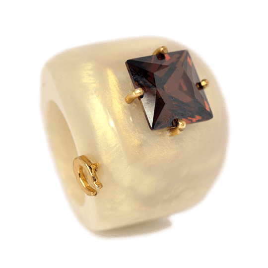 Sophisticated Wall Street, Rings | Caona Handcrafted Jewelry
