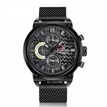 Zephyr - Analog Watch with Steel band and Six hands - Best Watches Direct
