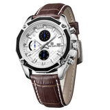 Zolder - Analog Watch with Leather Band - Best Watches Direct