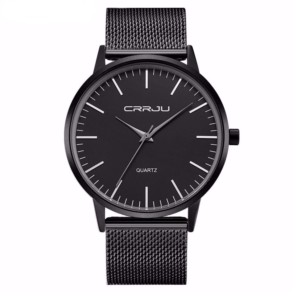 Bryant - Ultra Thin Analog Watch with Mesh band
