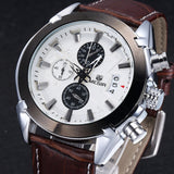 Sirius - Analog watch with Leather band