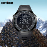 Peak - Multifunctional digital watch for Climbing and Hiking with Altimeter and Barometer