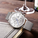Centurion - Classic Analog Watch with Steel band - Best Watches Direct