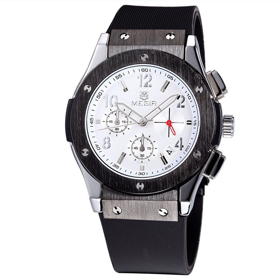 mens watch casual products analog wrist luxury quartz wristwatch waterproof dress date watches chronograph sports business