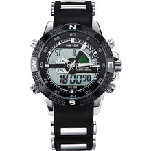 Stratus - Dual Display Watch with Silicone band