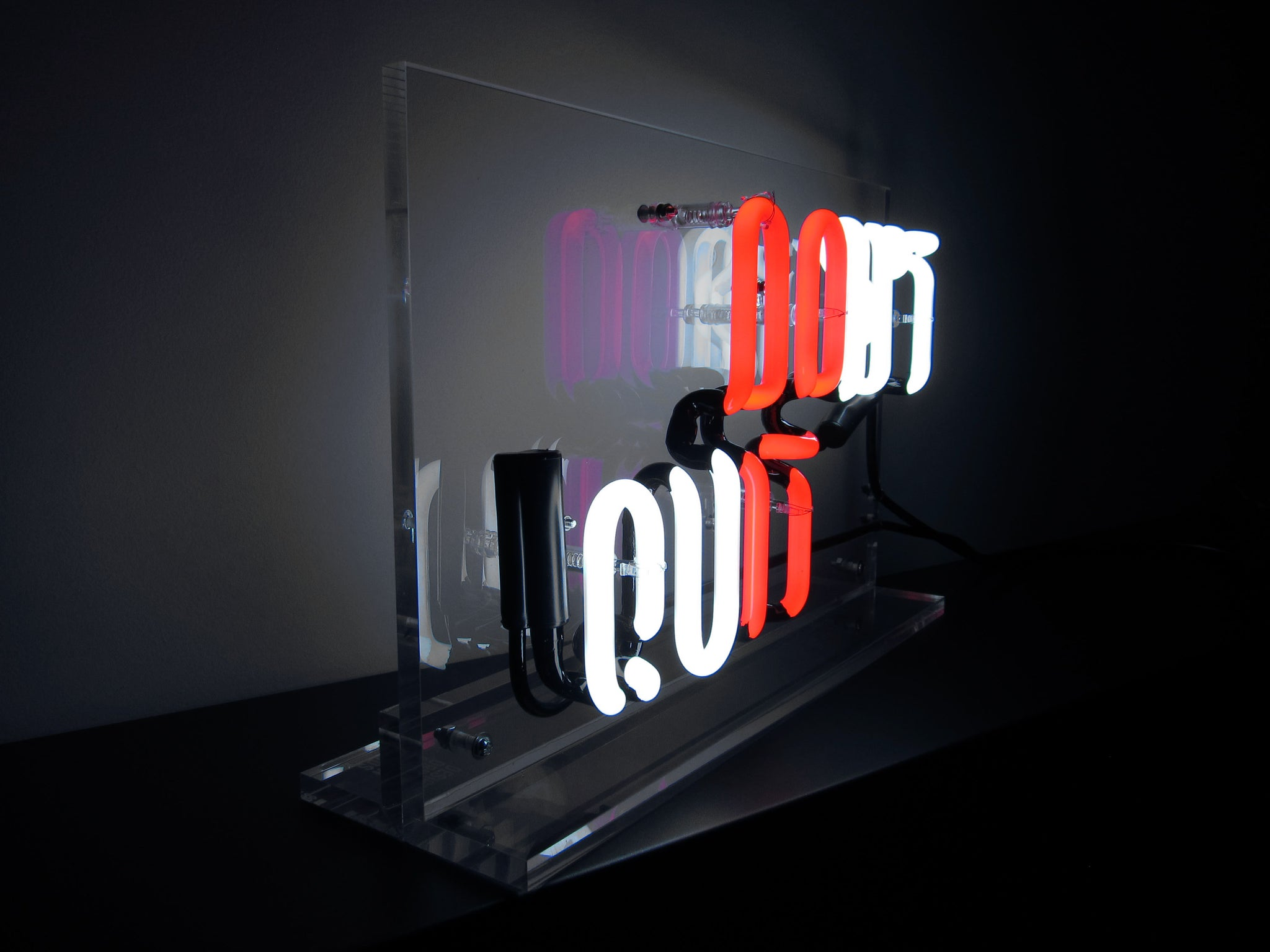 Don't Quit (Display Set) Neon - Design Driven Goods