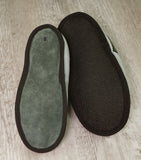 Medical Mules with suede soles