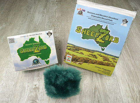 SheepZorb Wound Pads