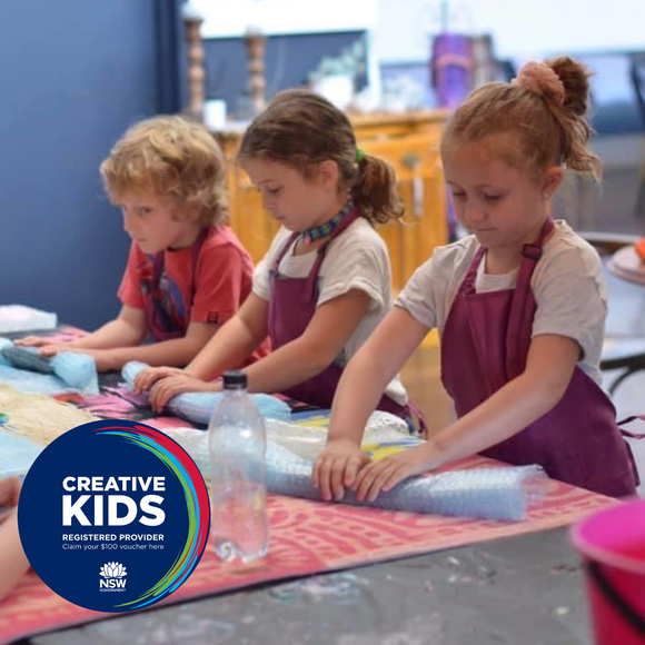 Creative Kids Holiday Craft Camp 15th April 2021 - half day