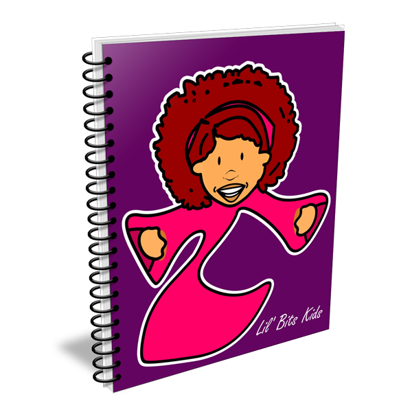 Lil' Bits Kids - Purple I Am Maria Notebooks & Sketchbooks