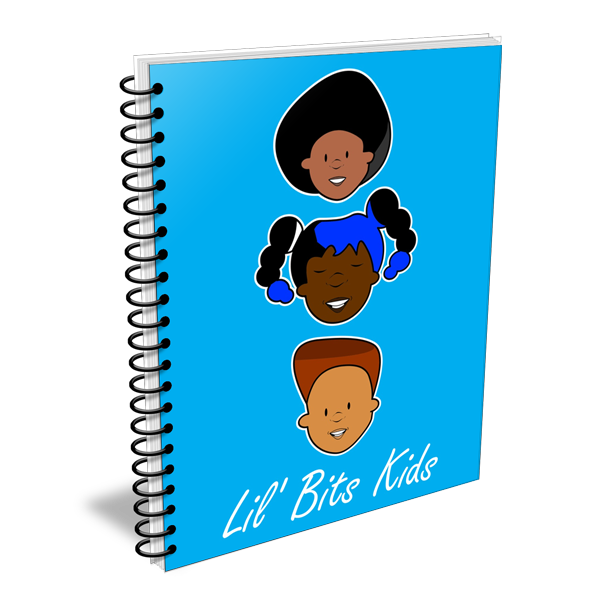 Lil' Bits Kids - We Are Friends Notebooks & Sketchbooks