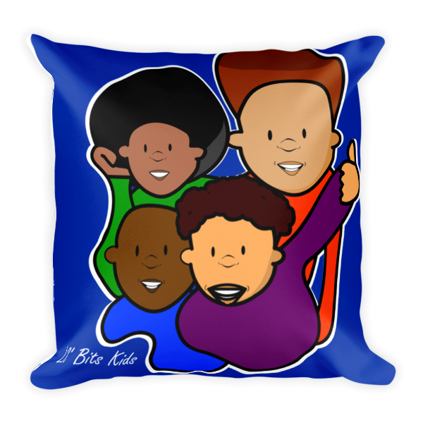Lil' Bits Kids - Blue Boys Pillow