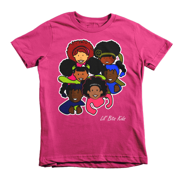 Lil' Bits Kids - Pink Girls Short sleeve t-shirt