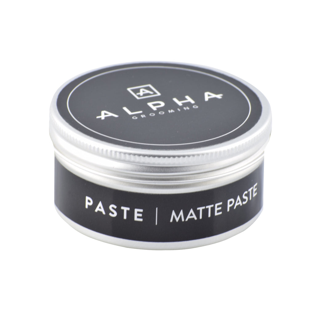 alpha grooming matte matt paste mens hair products hair product male grooming barber