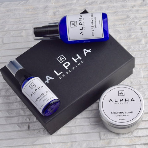 Alpha Grooming Beard Set - Citrus & Neroli