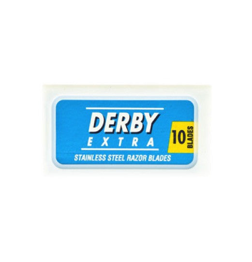 alpha grooming derby extra double edge safety razor blades 10 shaving shave razor blades male grooming
