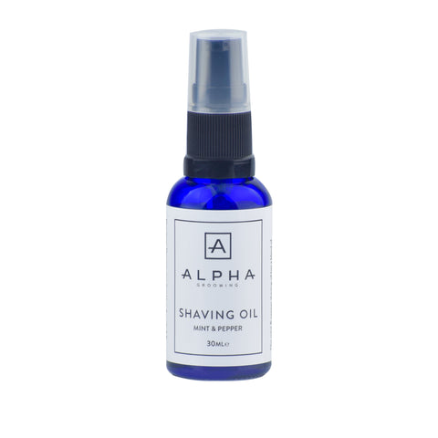 Alpha Grooming Aftershave Balm 100ml - Mint & Pepper