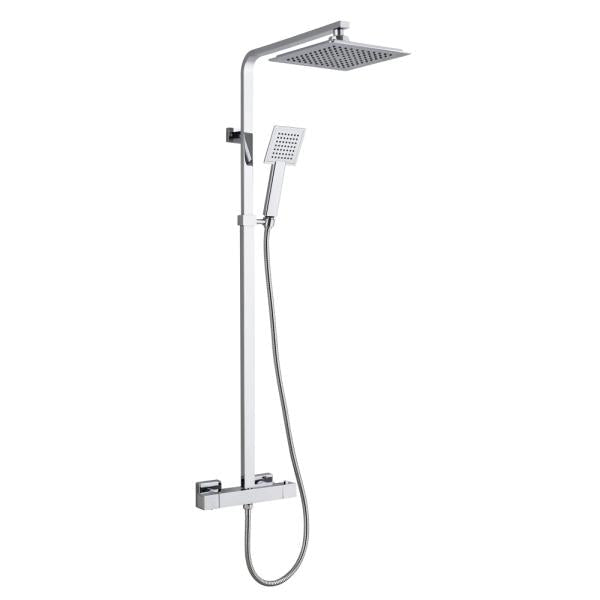 Premium Square Thermostatic Overhead Shower Kit - TBAC0001