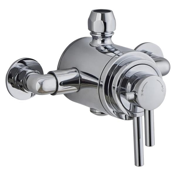 Concentric Thermostatic Mixer Valve (Exposed) - TBAC0020