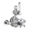 Concentric Thermostatic Mixer Valve Victorian - TBAC0043