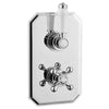 Traditional Concealed 2 Handle 1 Way  Thermostatic Valve - TBAC0066